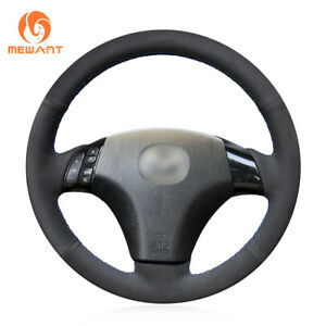 Top Design Suede Steering Wheel Cover For Mazda 3 Mazda 6 Mazda 5 Mazdaspeed3