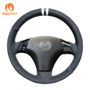 Hand Sew Soft Suede Steering Wheel Cover For Mazda 3 Mazda 6 Mazda 5 Mazdaspeed3