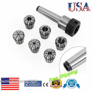 New Er32 Mt3 Collet Chuck Holder Fixed Cnc Millling Lathe Morse Taper Free Ship