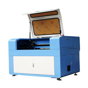 900x600mm 60w Co2 Laser Engraver Cutter Laser Engraving Motor Up And Down Table