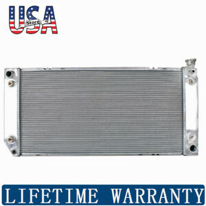 1693 Full Aluminum Radiator For Cadillac Chevy Gm C k Series 5 7l At Mt New