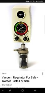 Ohio Medical Vacuum Regulator Ohmeda Intermittent Suction