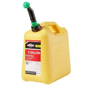 Gas Can Plastic Diesel Truck Suv Trunk Reserve Container Emergency Fuel 5 Gallon