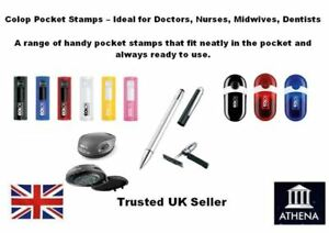 Colop Custom Pocket Stamps Ideal For Doctors Nurses Midwife Dentist Etc