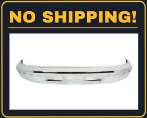 New Front Bumper Face Bar Chrome Fit Ford Bronco 1992 1997 Fo1002254