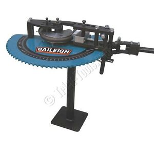 Baileigh Rdb 050 Manual Tube Bender With Pedestal Handle Rdb Model 50