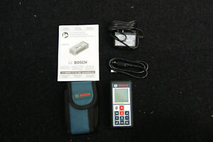 Bosch Glm 100 C Bluetooth Laser Distance Finder And Angle Measurer Used
