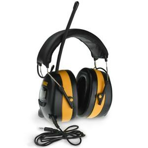 Dewalt Radio Am fm Digital Tune Electronic Ear Muff Headset Radio