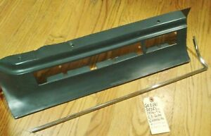 1974 1976 Nos Cadillac Brake Taillight Cover Bezel With Factory Chrome Trim Wow