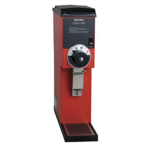 Coffee Bean Grinder 3 Lb Hopper Capacity Red Finish