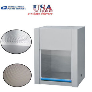 110v Vertical Laminar Flow Hood Air Flow Clean Bench Workstation System Industry