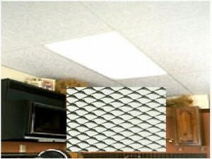 Store Display Fixtures 8 New Lighting Panels Prism Clear