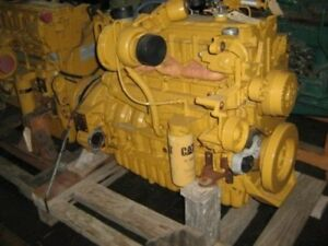 Surplus New Cat 3126b Diesel Engine All Complete And Run Tested