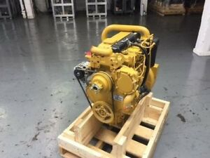 Cat C 4 4 Diesel Engine 100 Hp All Complete And Run Tested