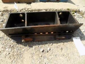 Case Ih Front Tractor Weight Bracket Came Off A Cih C50 Fits More S p00495