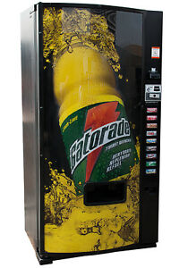 Dixie Narco 501e Drink Vending Machine Cans Bottles Gatorade Free Shipping