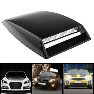 Universal Car Fake 3d Vent Plastic Sticker Hood Scoop Exterior Decoration Ch