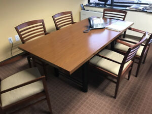Conference Table Cherry Laminate 36 X 72