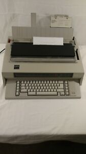 Ibm Wheelwriter 3 see The Add Ons 674x Electronic Typewriter W ribbon Working
