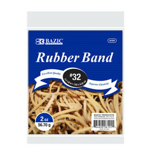 Bazic 2 Oz 56 70 G 32 Rubber Bands Pack Of 36