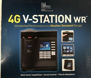 Bioscrypt 4g V station Weather Resistant Biometric Reader Iclass xstsh