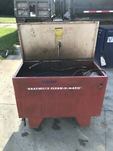 Graymills Clean o matic Parts Washer