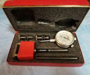 Central Tool Co 260 Vintage Dial Test Indicator In Original Box B zz