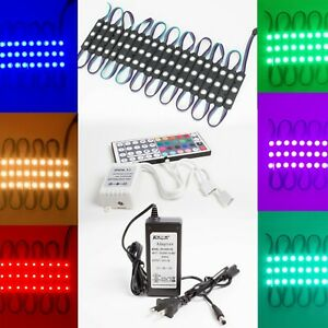 40ft Storefront Window Rgb Color Led Light Multi Color 5050 Ul Power