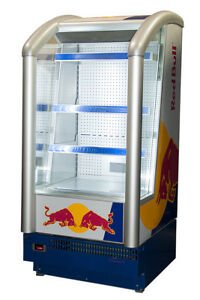 Carrier Compact Line Presenter 0646 Refrigerator W Red Bull Graphic