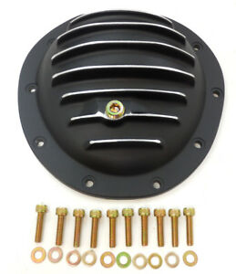 Gm Aluminum Front Differential Cover Kit 10 Bolt 77 91 Suburban Black Painted