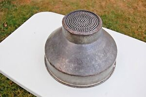 Vintage Galvanized Steel Milk Can Strainer Funnel Free Shipping