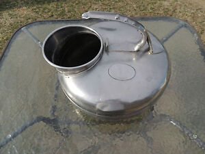 The Surge Milker Babson Bros Co stainless Cow Milking Bucket selling As Is
