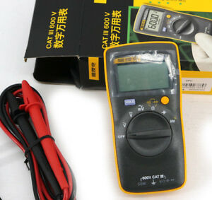 Usa Seller Fluke 101 Basic Digital Multimeter Pocekt Portable Meter