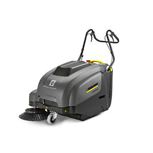 Karcher 9 840 739 0 Km 75 40 W Bp 70 Ah Walk Behind Sweeper With Dust Control
