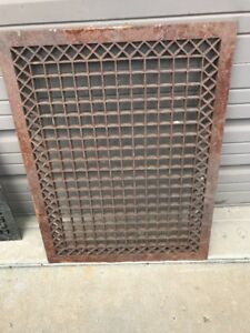 An Cast Iron Floor Heating Grate Or Cold Air Return 24 X 32 Heavy Duty