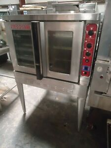 used Blodgett Dfg1xl aa Full Size Nat Gas Convection Oven W Stainless Legs