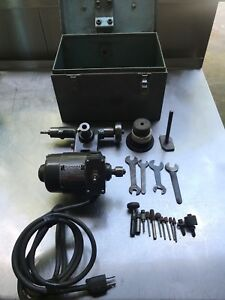 Tool Post Grinder Dumore No 11 Tool Post Grinder With Case 1 5 Hp