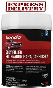 Auto Body Filler Kit Metal Car Boat Bondo 1 Gallon Cream Hardener Automotive 265
