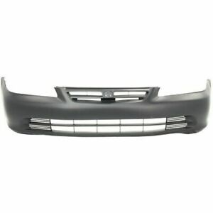 Front Bumper Cover For 2001 2002 Honda Accord Sedan Primed