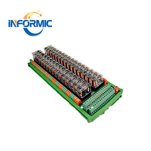 32 Way Channel 1 Open 1 Closed 24v Relay Module 40p Plc Special Interface 10a