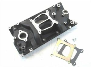 Small Block Chevy 283 350 383 Holeshot Vortec Intake Manifold Black Brand New