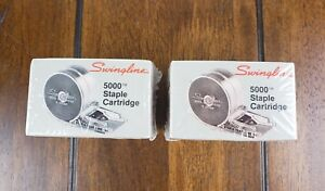 Swingline 5000 Staple Cartridge For Electric Stapler Lot Of 4 New Sealed Vtg