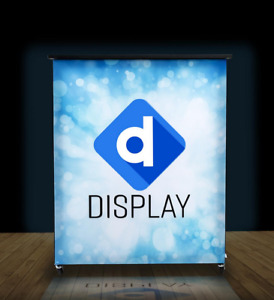 42 Illuminated Custom Printed Graphics Portable Trade Show Booth Counter Stand