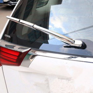 Abs Chrome Rear Window Wiper Cover Trim Fit For Mitsubishi Outlander 2016 2018