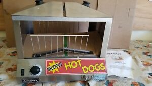 New Hot Dog Steamer Electric Table Top 120v Bun Storage Hds 1000w Commercial