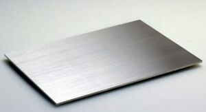 1 8 Stainless Steel Plate 4x6 Foot 11 Gauge Brushed Finish Free Shipping