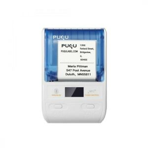 Puqu Wireless Label Printer Portable Bluetooth Thermal Maker Q00 With