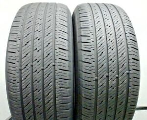 Two Used 265 60r18 2656018 Hankook Dynapro Ht 7 32 S22
