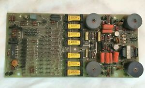 Vintage Speedcall Telephone Interface Board From Ge Mastr Ii Transceiver