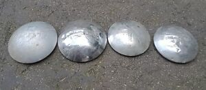 Vintage Chevrolet Pickup Truck Dog Dish Hubcaps 1940 s 1950 s 2 10inch And2 11in